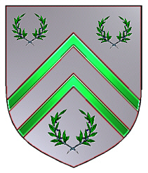 Burrows coat of arms - English