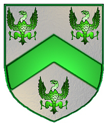 Carlson coat of arms - English