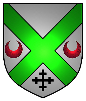 Clarkson coat of arms - English