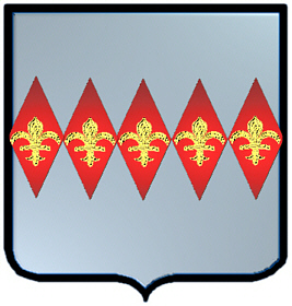 Diamond coat of arms Irish