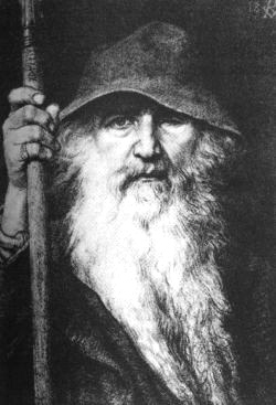 Odin god of the Vikings