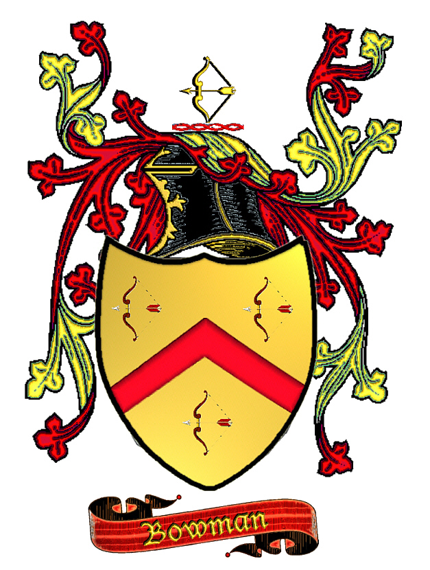 Bowman Coat Of Arms And Family History