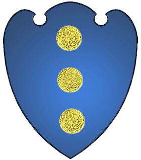 Dumars French coat of arms